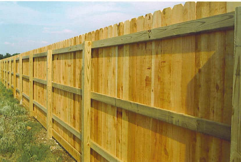 How Much Does A Privacy Fence Cost In 2019 Cost Aide